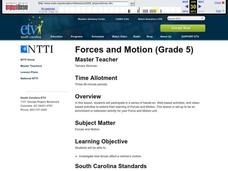 Forces and Motion Lesson Plan