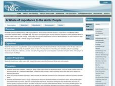 A Whale of Importance to the Arctic People Lesson Plan