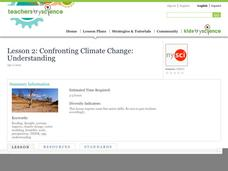 Lesson 2: Confronting Climate Change: Understanding Lesson Plan