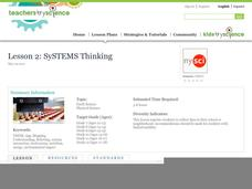 Lesson 2: SySTEMS Thinking Lesson Plan