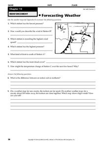 Forecasting Weather Worksheet