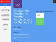Forecast the Weather Lesson Plan