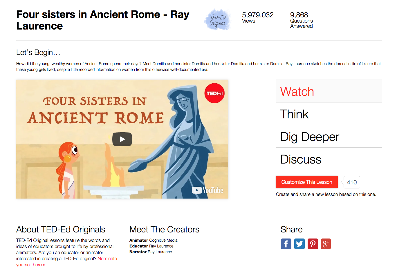 Four Sisters in Ancient Rome Video