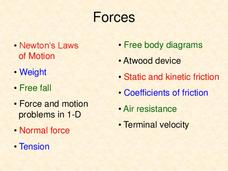 Forces Presentation