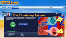 Study Jams! The Circulatory System Interactive