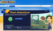 Study Jams! Plant Adaptations Interactive