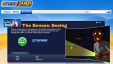 Study Jams! The Senses: Seeing Interactive