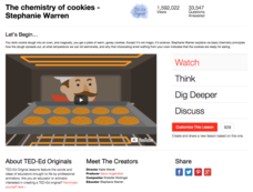 The Chemistry of Cookies Video