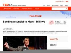 Sending a Sundial to Mars Video
