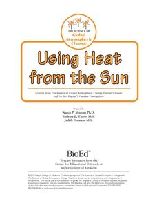 Using Heat from the Sun Activities & Project