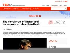 the moral roots of liberals and Ted2008 jonathan haidt 1: the moral roots of liberals and conservatives ()summary our society has two parties that are liberals and conservatives but they say to each other that other party is wrong and they are right.