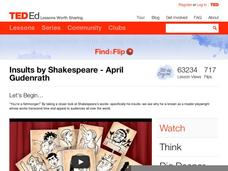 Insults by Shakespeare Video