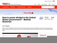 How is Power Divided in the United States Government? Video
