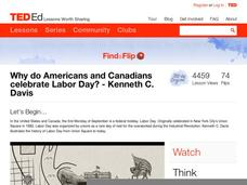 Why do Americans and Canadians Celebrate Labor Day? Video