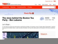The Story Behind the Boston Tea Party Video