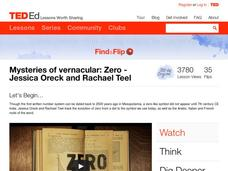 Mysteries of Vernacular: Zero Video