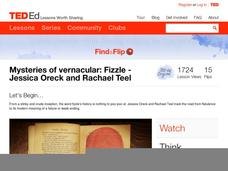 Mysteries of Vernacular: Fizzle Video