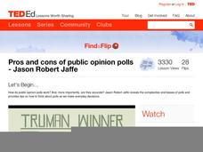 Pros and Cons of Public Opinion Polls Video