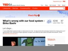 What's Wrong with Our Food System Video