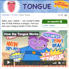 How the Body Works—Tongue Video