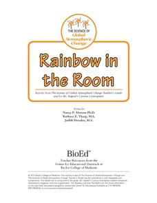 Rainbow in the Room Lesson Plan