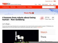 4 Lessons From Robots about Being Human Video