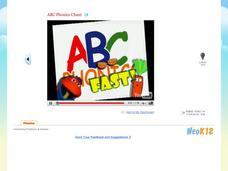 ABC Phonics Chant Video