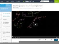 Calculus: Derivatives 2 (new HD version) Video