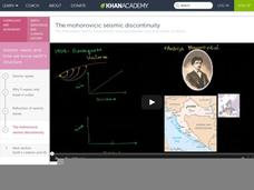 The Mohorovicic Seismic Discontinuity Video