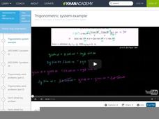 Trigonometric System Example Video