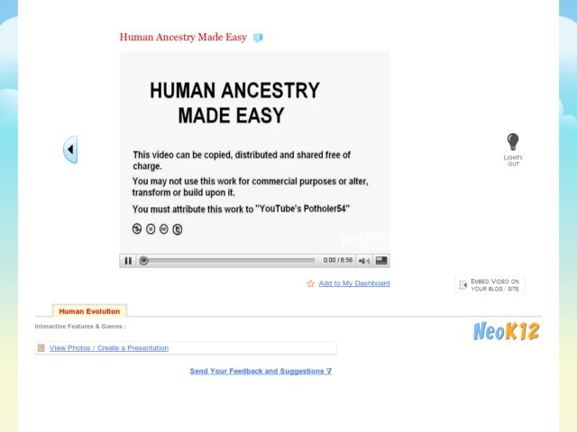 Human Ancestry Made Easy Video