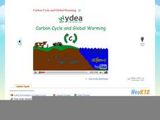 Carbon Cycle and Global Warming Video