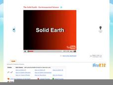 The Solid Earth - Environmental Science Video