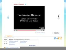 Biomes : Freshwater Video
