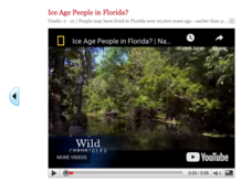 Ice Age People in Florida? Video