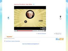 American Presidents: John Adams Video