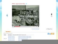 WWII - Japan Invades China Video