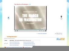 The March on Washington Video