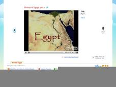 History of Egypt Part 1 Video