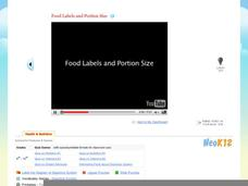 Food Labels & Portion Size Video