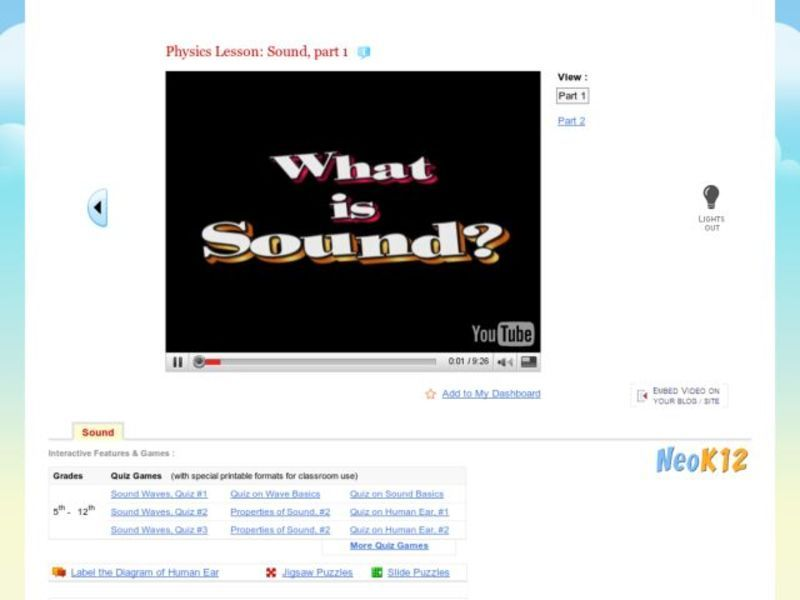 Physics : What is Sound Part 1 Video