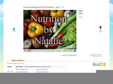 Understanding Food - Nutrition - Part 1/2 Video