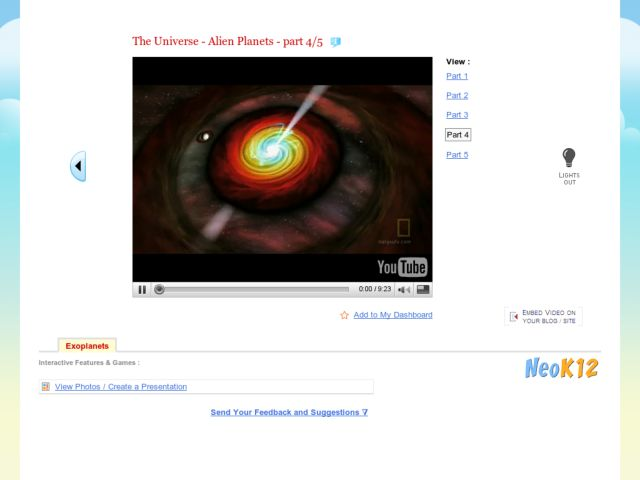 The Universe - Alien Planets 4/5 Video