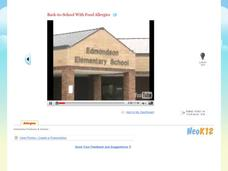 Back-to-School With Food Allergies Video