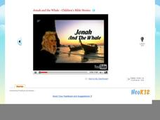 Jonah & the Whale - Children's Bible Stories Video