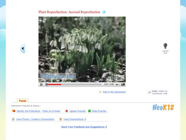 Plant Reproduction: Asexual Reproduction Video