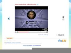 American Presidents: Abraham Lincoln Video