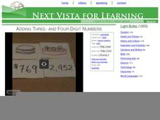 Adding Three- and Four-Digit Numbers Video