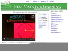 Common Angle Measures Video