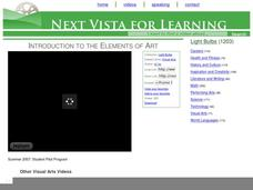 Introduction to the Elements of Art Video